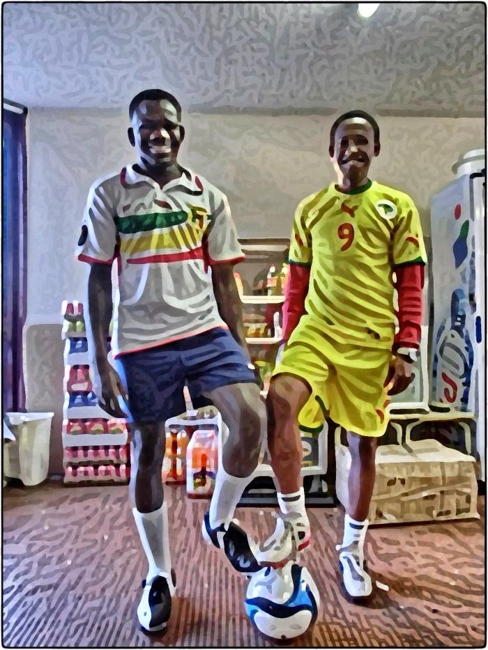 Okocha et Brahima