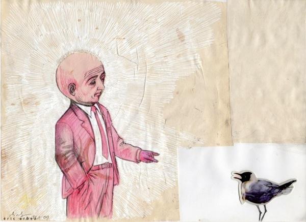 Homme et Oiseau