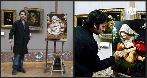 Thomas Cambois au Louvre