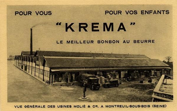 Usine Krema vers 1930