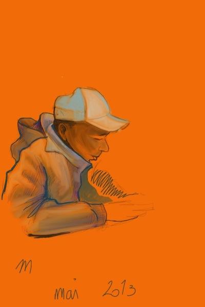 Sketch on iPad