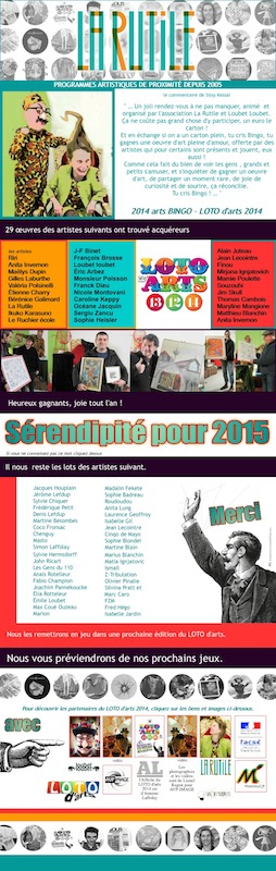 Serendipite 2015